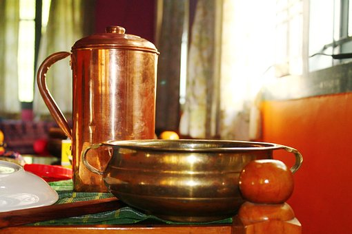 Copper Vessel, Copper, Water Jug