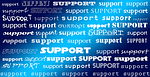support, help, assistance