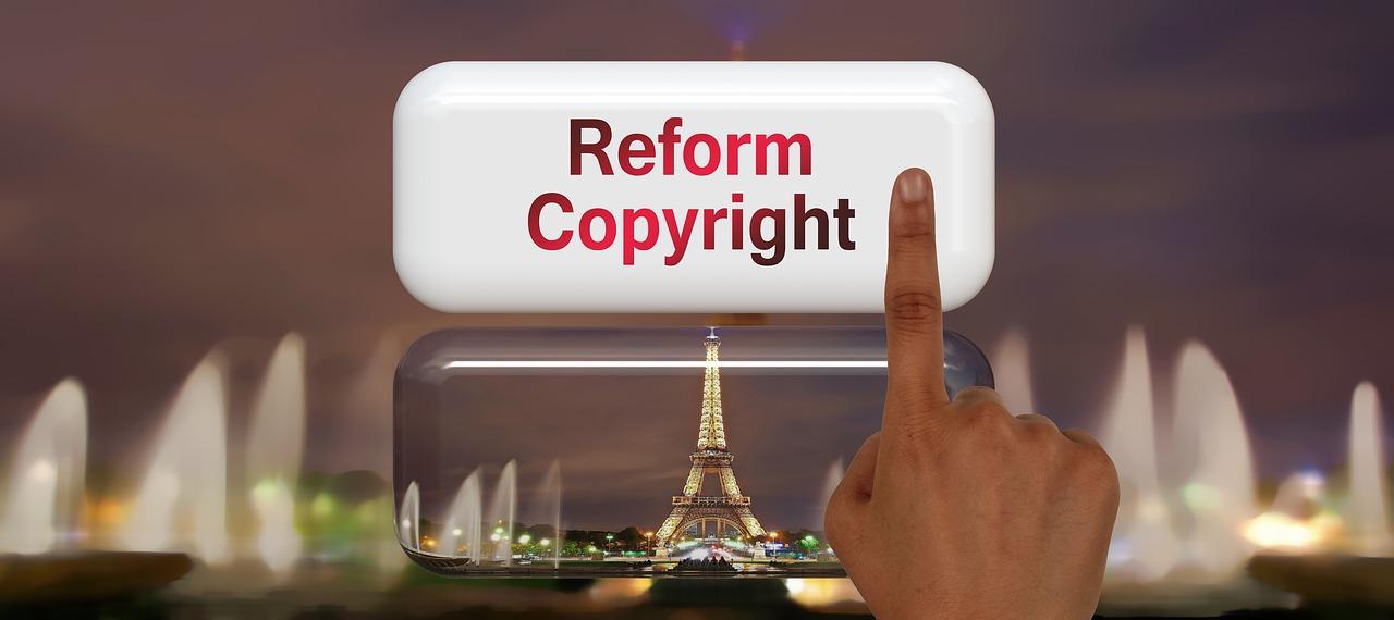 Reform copyright bild