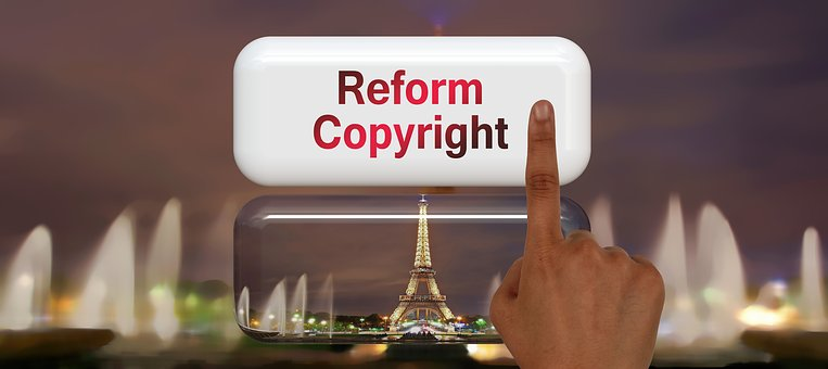 Copyright, Reform, Renew, Author