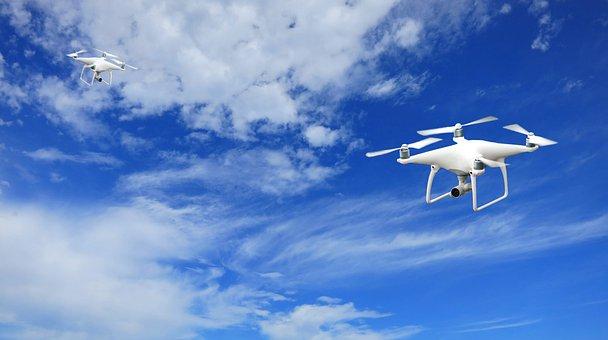 Phantom P4 Dji Drones Uav Aerial C