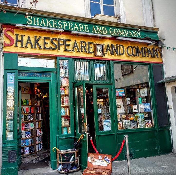 shakespeare and company paris  u00b7 free photo on pixabay