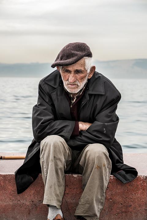 Vecchio Uomo Solitudine - Foto gratis su Pixabay