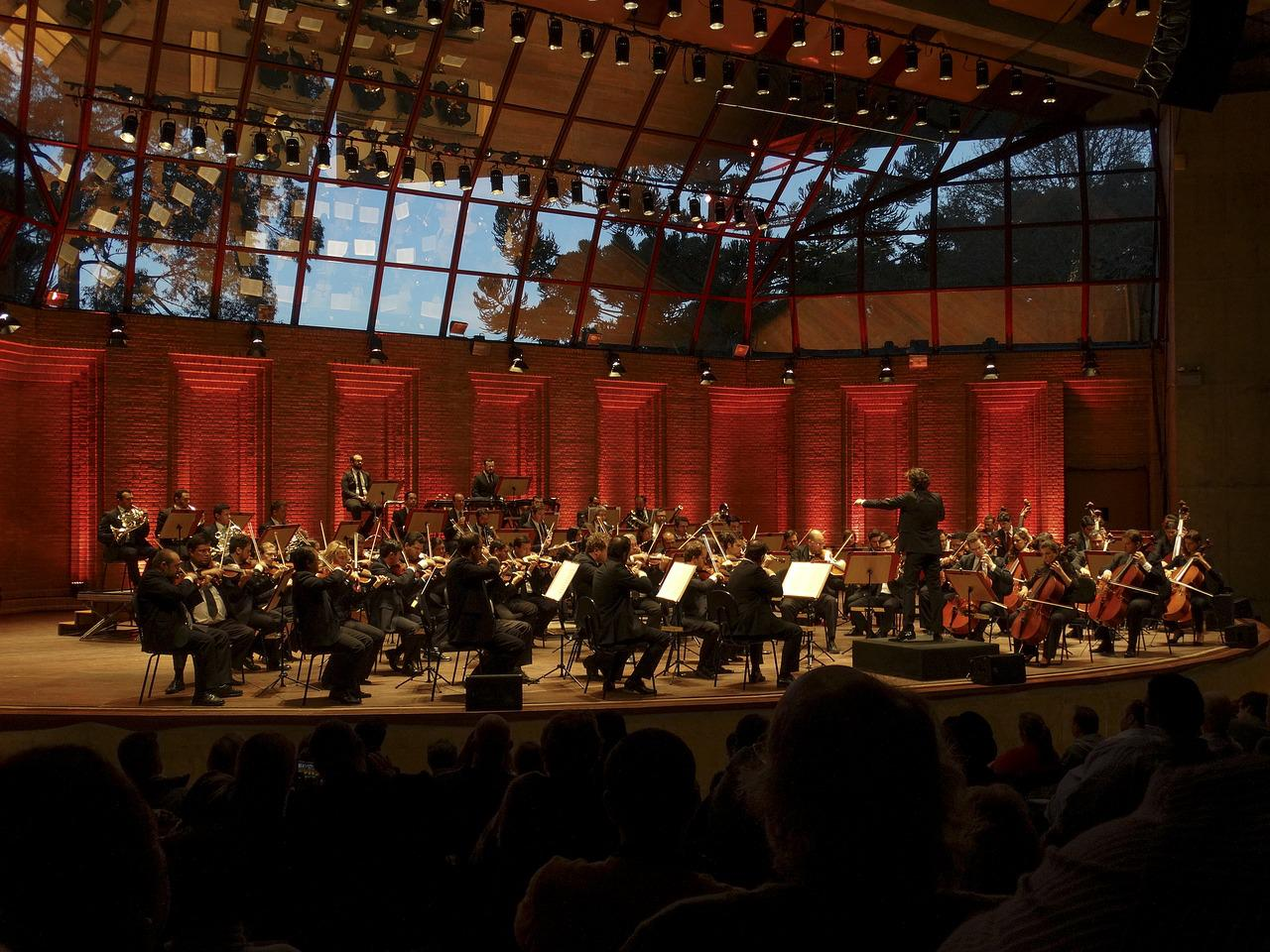 symphony orchestra ensemble musical performance
