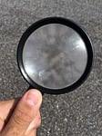 hand, magnifying glass, discovery