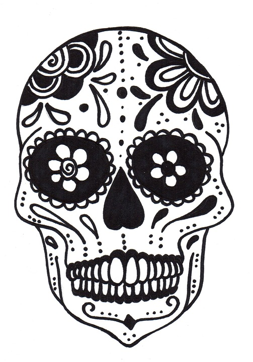 Bien-aimé Free illustration: Skull, Mexicana, Mexican Skull - Free Image on  FQ56