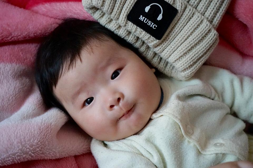 Muziek, Kinderen, Baby, Nieuwe Studenten, Jongen, Asia