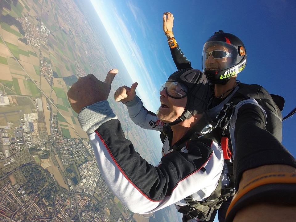 Angst vor dem freien Fall muss man beim Indoor Skydive nicht haben.