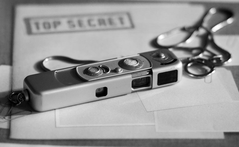 Spy Camera, Spy, Secret, Top Secret