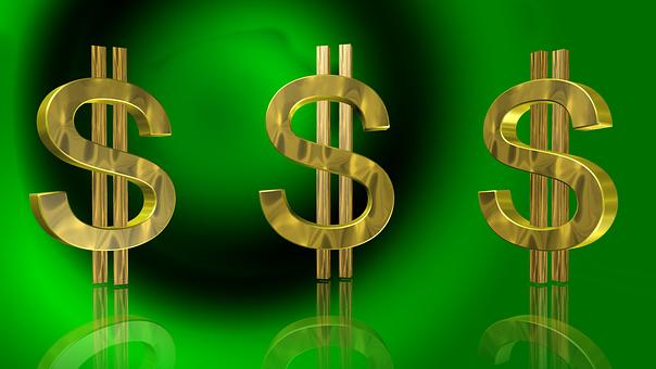 Dollar, Money, Gold, Financial, Wealth