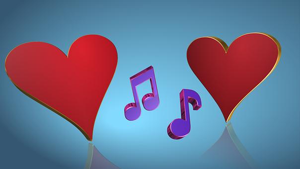 Bonito, Coração, Amor, Juntos, Cuidados