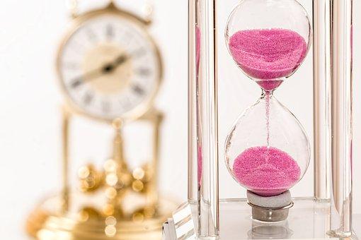 Hourglass Clock Time Deadline Hour Rush Hu