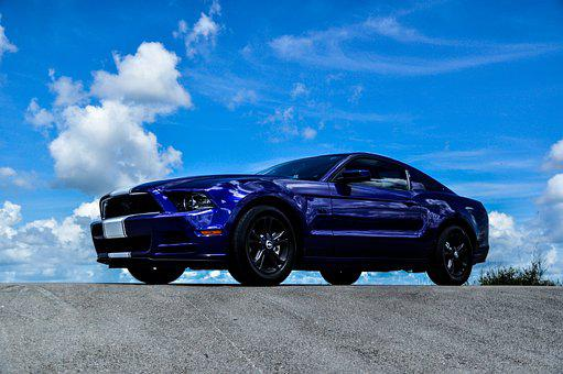Mustang Car Muscle Car Ford Mustang Auto V