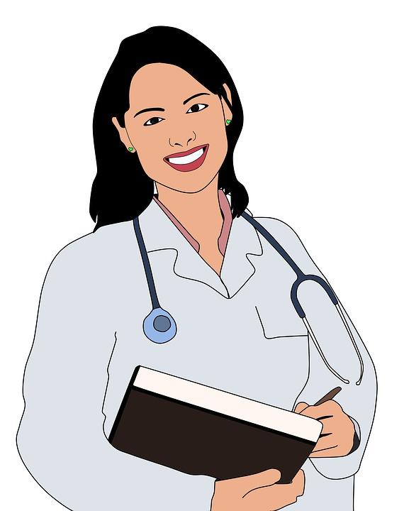 Doctor, Medic De Sex Feminin, Birou, Secretariat