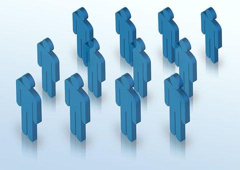 员工, 简笔画, 人, 业务, 粘人, 人类, 公司, 团队, 客户