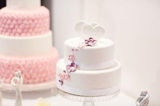 Wedding Cake Debut Cake White Cake Pink Ca