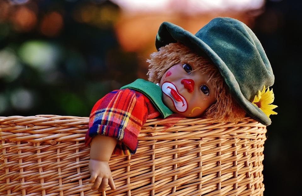 Foto Gratis: Bambola, Pagliaccio, Triste