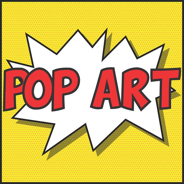 pop art design colour free vector graphic on pixabay. Black Bedroom Furniture Sets. Home Design Ideas