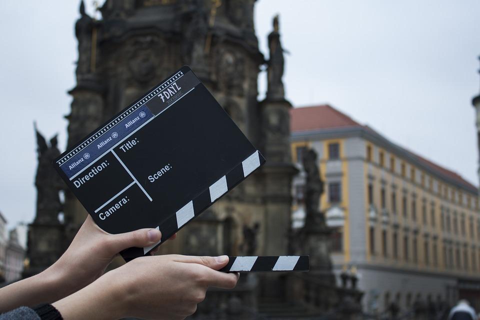 フラップ, 映画, カメラ, アクション, オロモウツ, 撮影, ホールド