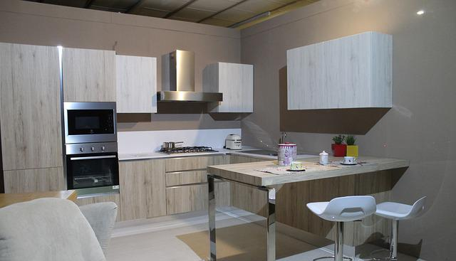 Free photo Kitchen, Modern Kitchen, Furniture  Free