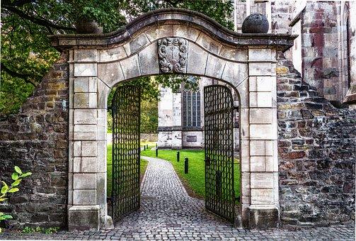 Meta, Portão, Portal, Entrada, Passagem