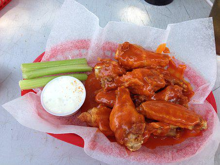 Chicken Wings Spicy Buffalo Wings Tasty Ap