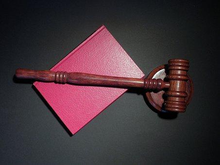 Martillo, Tribunal, Juez, Justicia, Ley