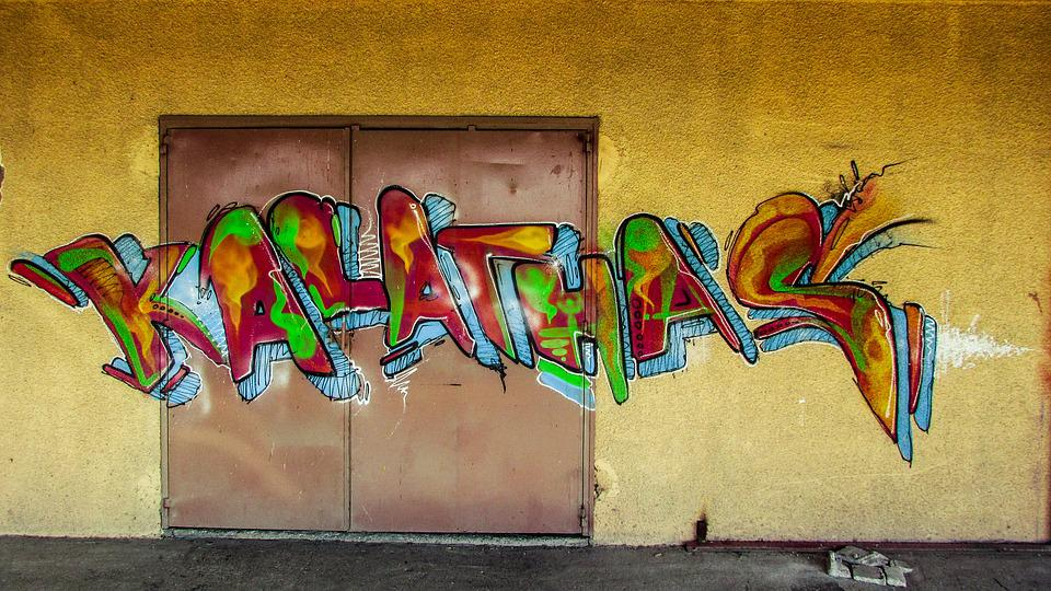 Gambar 60 Gambar Grafiti Wallpaper Graffiti Terkeren Warna Kuning Di Rebanas Rebanas