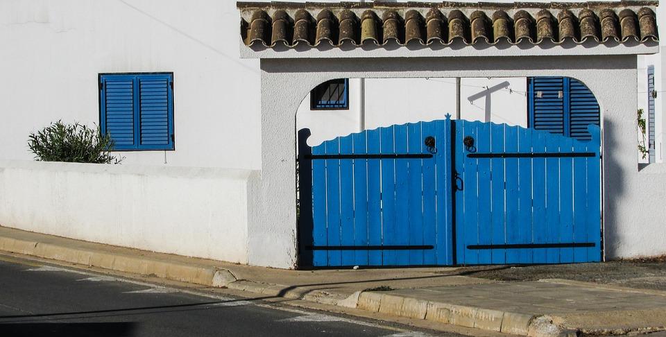 Yard Door Blue Door House Exterior Architecture & Free photo: Yard Door Blue Door House - Free Image on Pixabay ... Pezcame.Com