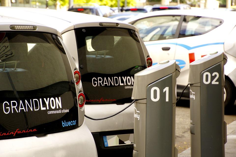 Lyon Elektrische Auto S Station Gratis Foto Op Pixabay