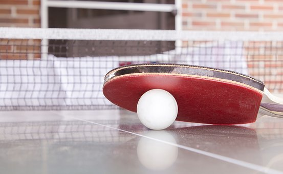 Table Tennis, Ping-Pong, Toys, Object