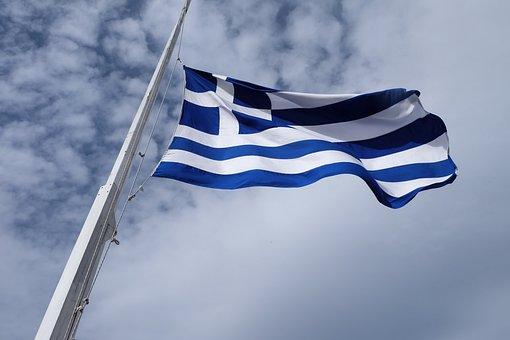 Griechenland Flagge Bilder Pixabay Kostenlose Bilder Herunterladen