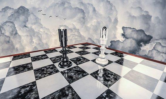 체스, 전쟁, 싸움, 전략, 게임, 보드, 전투, 경쟁, 블랙, 킹