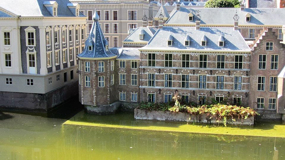 Het torentje is het kantoor van premier Rutte. Staat in het binnenhof in Den Haag.