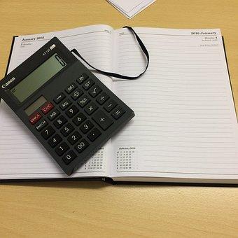 電卓, 仕事, 会計, ビジネス, オフィス, ファイナンス, 金融, レポート