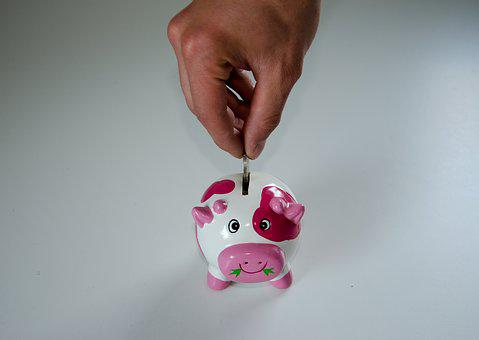 Save Piggy Bank Money Economical Ceramic F