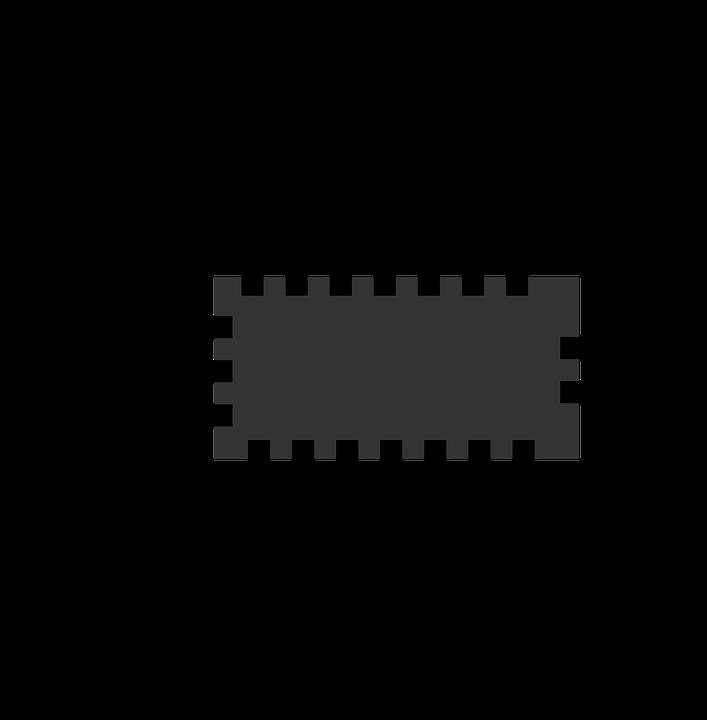 Chip, Icon, Mikro, Prozessor, Computer, Cpu, Symbol