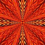 copper, tribal, radiate