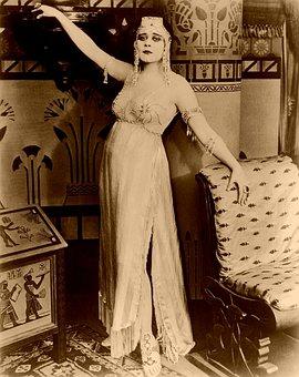 Cleopatra, Theda Bara, Silent Film
