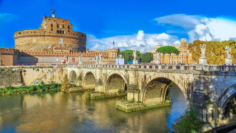 Rome, Italië, Het Vaticaan, Geschiedenis, Gebouwen