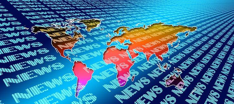 News, Continents, Newspaper, Globe, Read
