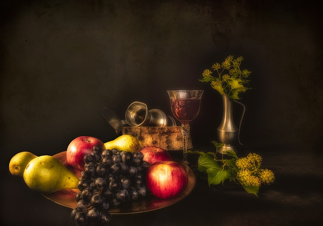 Free Photo Still Lifes Fruit Pears Apples Free Image