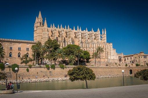 Mallorca - Impressionen - Palma, Kathedrale