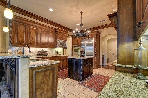 Kitchen, Elegant, Home, Architecture