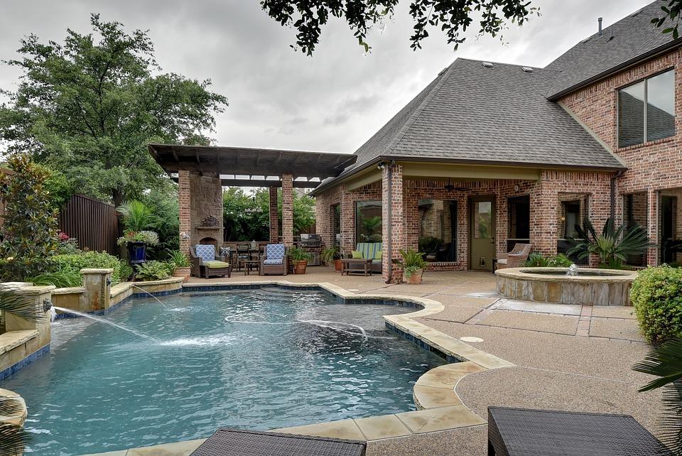 Schwimmbad Hinterhof Pool Kostenloses Foto Auf Pixabay