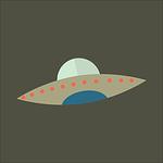 night, ufo, alien
