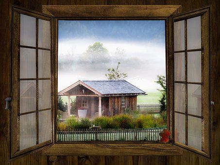 La Fenêtre, Tombe, Perspectives, Paysage