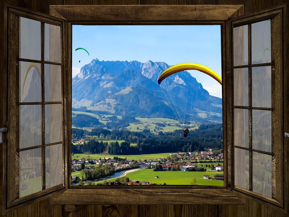Fenster Ausblick Berge 183 Kostenloses Foto Auf Pixabay