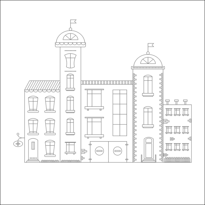 Architecture Drawing Png free vector graphic: city, vector, drawing, structure - free image