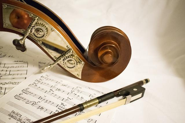 Double Bass u003cbu003eMusicu003c/bu003e Arc Sheet - Free photo on Pixabay